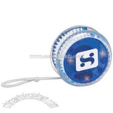 Overseas blue light-up yo-yo