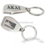 Overseas chrome finish metal bottle opener key holder