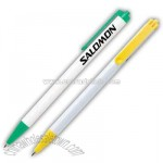 Overseas white click pen