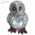 Owl Solar Garden Light with Built-in Motion Sensor and Automatically Turn On/Off