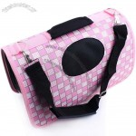 Oxford Cloth Pink Pet Backpack