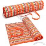 Oxford Cloth Portable Picnic Mat with Pillow