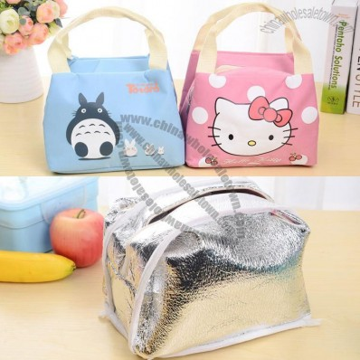 Oxford cloth Lunch Bag with Tin foil Inside