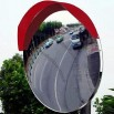 PC Acrylic Traffic Convex Mirror for Outdoor Uses, Easy to Install and Clean