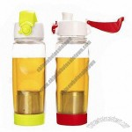 PC Water Bottles with Filter, 580mL Volume