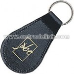 PEAR SHAPED LEATHER KEYRINGS