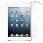 PET Anti-fingerprint/Anti-glare Screen Protector for iPad Mini