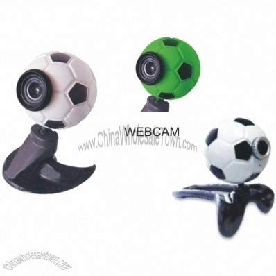 PROMOTIONAL PC WEBCAM FOOTBALL SHAPED