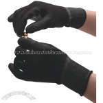 PU Black Cleanroom Glove