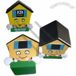 PU House Anti Stress Ball - House Stress Reliever