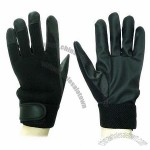 PU Leather Palm Working Gloves