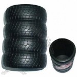 PU foam Anti Stress Tyre Shape Cup Holder