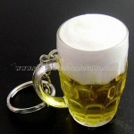 PVC Beer Cup Keychain