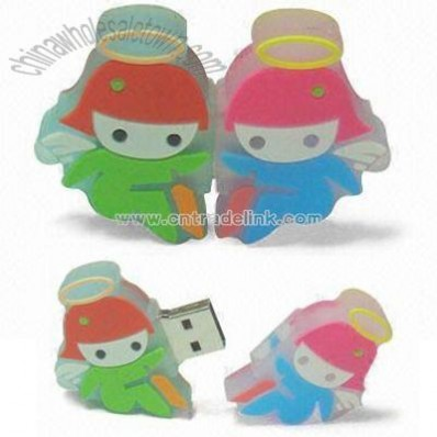 PVC Cartoon Mold USB Flash Disk