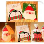 PVC Christmas Santa Pocket