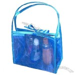 PVC Cosmetic Handle Bag