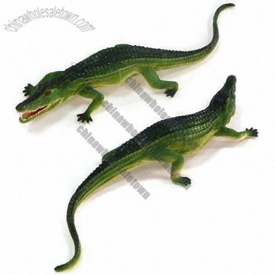 PVC Crocodile Craft Toy
