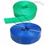 PVC Layflat Hose for Transporting Drinking Water, Waste Water, Chemicals, Heating and Cooling Fluid