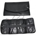 PVC Leather Cosmetic Brush Bag