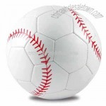 PVC Leather Machine-Sewn Soccerball Size 5, Baseball Design