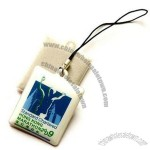 PVC Mobile Phone Cleaner Pendant