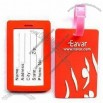 PVC Rubber Luggage Tag(2)