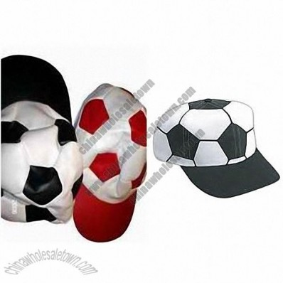 PVC Soccer Ball Shaped Cap