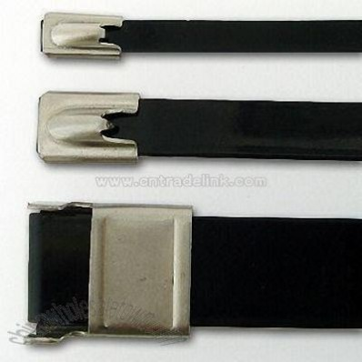 PVC Stainless Steel Cable Tie