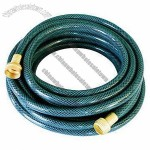 PVC high pressure garden hose, used in sanitary and foodstuff industry