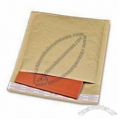 Padded Jiffy Bag with Paper Mail, Packaging and Self-adhesive Tape