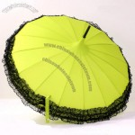 Pagoda Umbrella with Fashion Lace