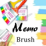 Paint Brush Hanging Memo Pad