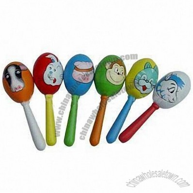 Painted Maracas for Children