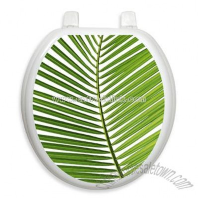 Palm Frond Round Decorative Applique