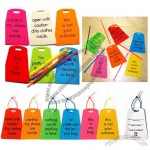 Pamela Barsky Luggage Tags with Cable