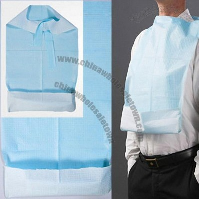 Paper Adult Bib - Disposable