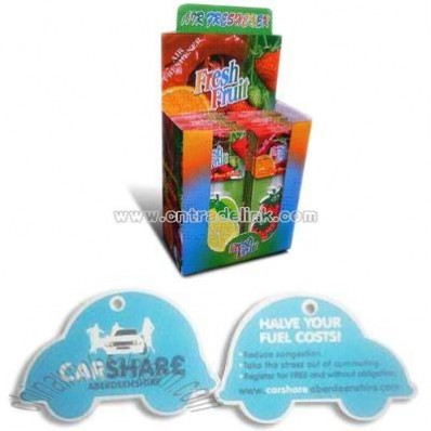 Paper Air Fresher for Car
