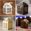 Paper Orchid Filigree Favor Boxes