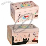 Paper Shoe Box with High-quality Corrugated