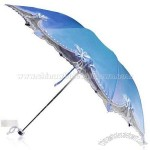 Paradise Heart's Word Of Flowers Umbrella-Anti-UV Sun Umbrella