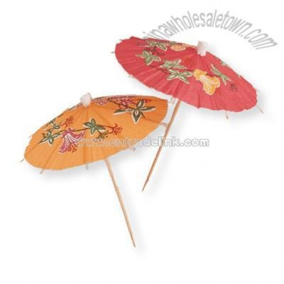 Wholesale Paper Parasol Umbrellas