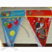 Party Decorations Flags with CMYK Printing
