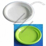 Party Plate, Plastic, Disposable, 7 Inches, White Color