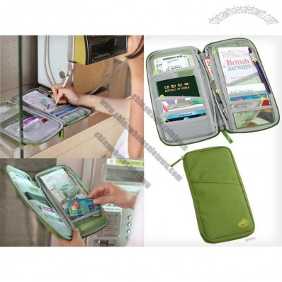 Passport, Travel Document & Money Organizer