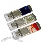 Password Protection Liquid USB Flash Drives