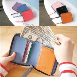 Paul and Polina Zippered Wallet
