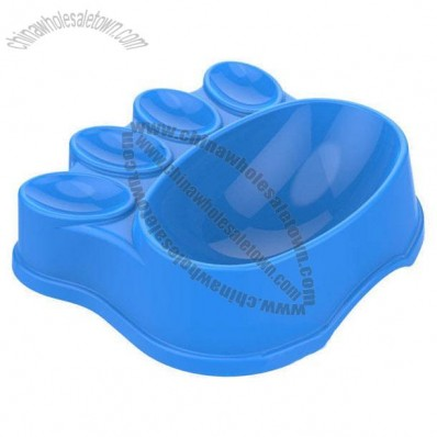 Paw Shaped Pet Bowl