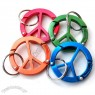 Peace Sign Carabiner
