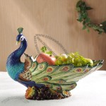 Peacock Fruit Bowl
