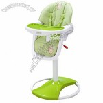 Pedestal High Chair with Pneumatic Lift